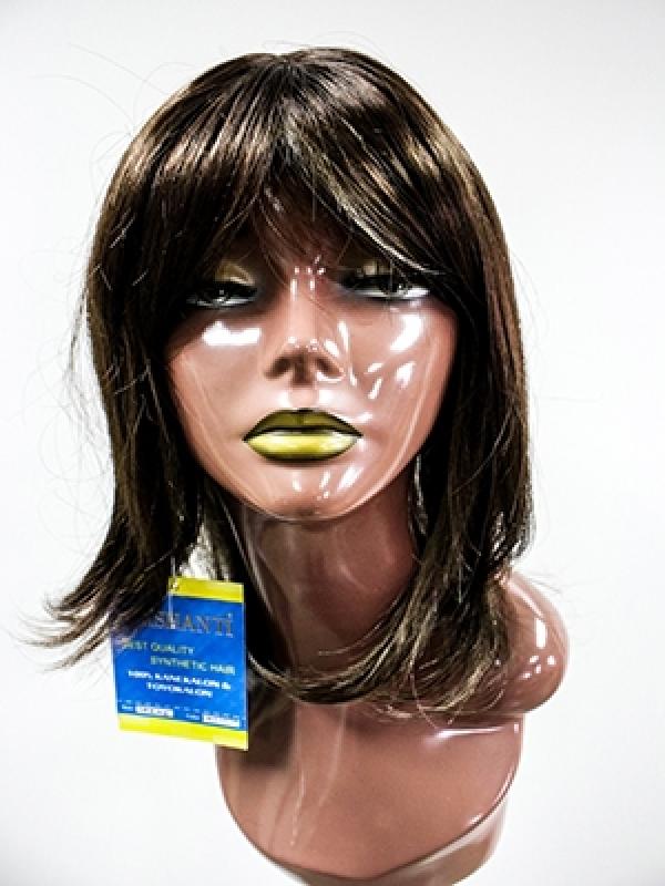 Loja para Comprar Peruca Sintética de Cabelos Salvador - Perucas Femininas Sintéticas