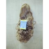 cabelo sintético cacheado loiro