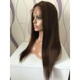 comprar peruca de cabelo natural sob encomenda Brasília