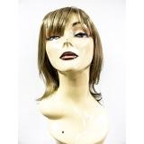 loja para comprar perucas sintéticas onduladas Campo Grande