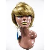 peruca sintética cacheadas Belém