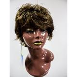perucas sintéticas medias à venda Salvador
