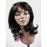 perucas sintéticas onduladas à venda Natal