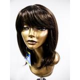 peruca sintética de cabelos