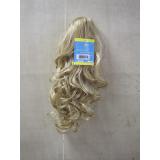 quanto custa cabelo sintético cacheado loiro Brasília